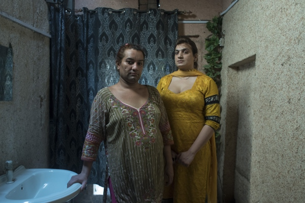Asha and Noor were the only members from the trans community who openly supported Julie's fight against a mob that gang raped her in 2016. They were threatened by the gang but kept coming to the protests that Julie was leading.